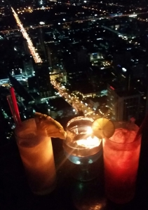 Petit cocktails au 77ème étage