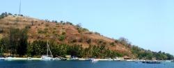 1ère escale à Lombok