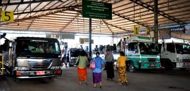 La station de camion de Kinpun