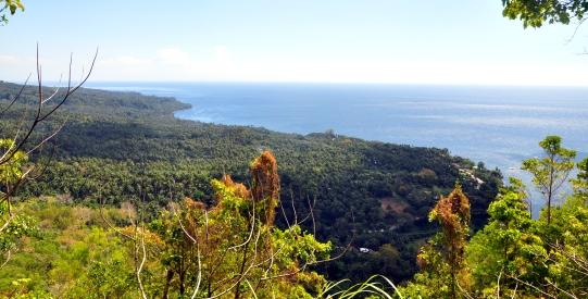 Camiguin old volcano view