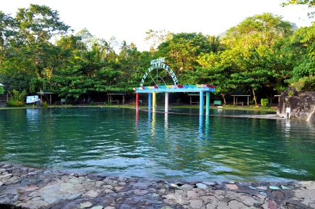 Camiguin soda water pool